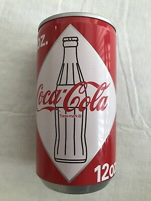 Coke Coca Cola Diamond Soda Can Musical Bank - Rare