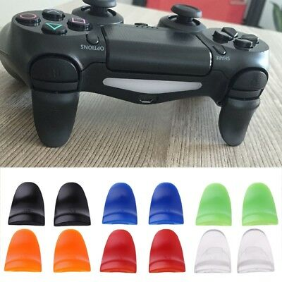 2pcs R2 L2 Button Extended Trigger Cover Extender for PS4 Playstation 4 Slim Pro