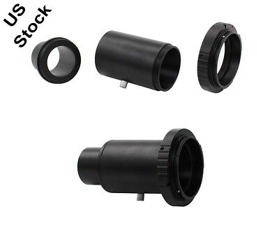 "1.25"" Telescope Adapter Extension Tube T Ring for Canon DSLR SLR Camera DC618"