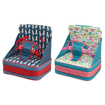 JJ Cole 9m+ Baby/Toddler Feeding/Booster Seat for High-Chair/Foldable/Portable