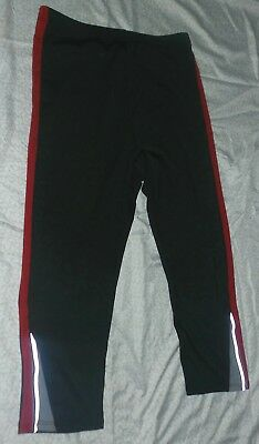 Athletic Works Cropped Gym Sports Leggings Fitness Exercise Size M