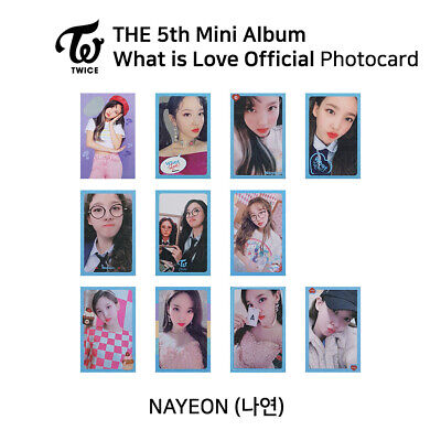TWICE 5th mini album : What is love Official Photocard - Nayeon