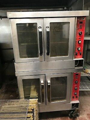 Vulcan Double Deck Gas Convection Oven-Used