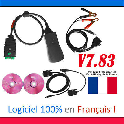 PP2000 lexia3 With Diagbox Citroen Peugeot Diagnostic Tool Scanner Interface OBD