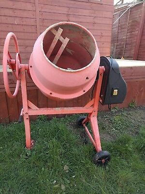 FoxHunter Concrete Cement Mixer - 120L Drum (Collection Only)