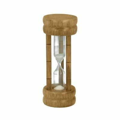 Metaltex 3 Minutes Egg Timer Kitchen Traditional Wooden Sand Glass Timing Clock