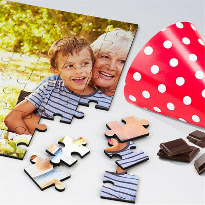 Personalized Printed Your Photo Jigsaw Puzzle Custom Photo Birthday Party Gifts
