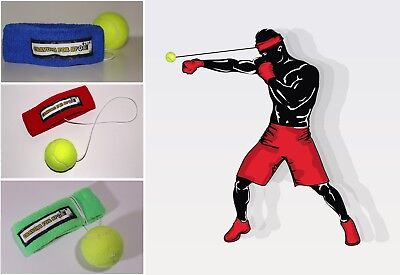 FightBall Boxing Headband for Punch Timing and Precision, for MMA, Muay Thai
