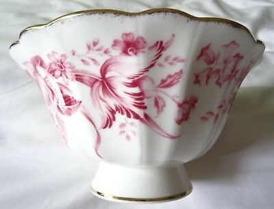 NO RESERVE - Royal Albert Paradise Bowl pink/red - used - GREAT CONDITION