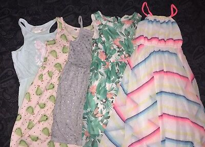 Girls Bundle H&M Dresses Age 6-8 Years