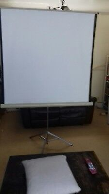 tripod portable projector screen