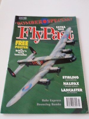 FlyPast Bomber Special Magazine - Extra Issue 1991(with free Lancaster poster)