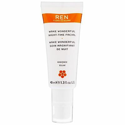 REN Clean Skincare Face Wake Wonderful Night Time Special 40ml for women