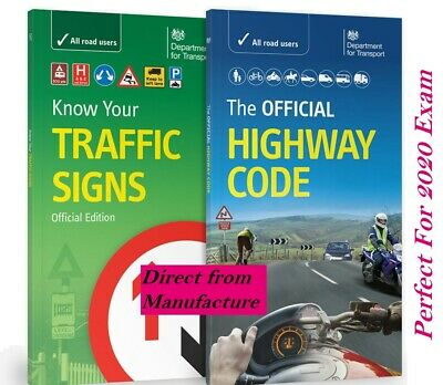 Dvsa Official Highway Code & Know Your Traffic Signs Paperback 2019 *trfc+Hw