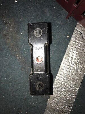 13xbill 60amp fuse carrier Only