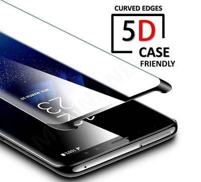 5D Curved Case Friendly Tempered Glass Screen Guard For Samsung Galaxy S7 EDGE