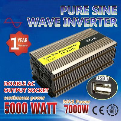 4000w Peak Modified Sine Wave Power Inverter Dc 12v To Ac 220v Car Caravannc Special Buy Electronic Accessories