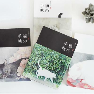 """Flower Cat ver.2"" 1pc Cute Sketchbook Notebook Blank Journal Drawing Notepad"
