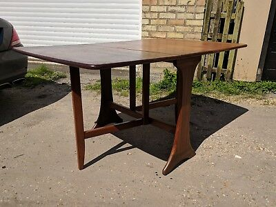 Vintage Retro Mid Century G Plan Fresco Teak Drop Leaf Dining Table Danish Style