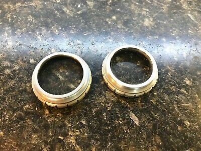 2x Bausch and Lomb B&L Microscope Auxiliary Lens