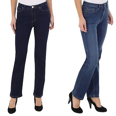 Ex M&S Per una Ladies Jeans Sculpt & Lift Straight leg Stretch 6-24 Mark Spencer