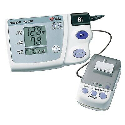 Omron 705CP II Upper Arm Blood Pressure Monitor With Thermal Printer Brand New