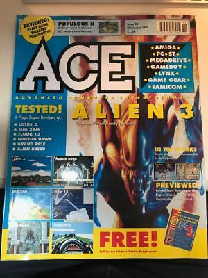 ACE Magazine ~ Issue 50 ~ Sept 1991 ~ Advanced Computer Entertainment - vintage
