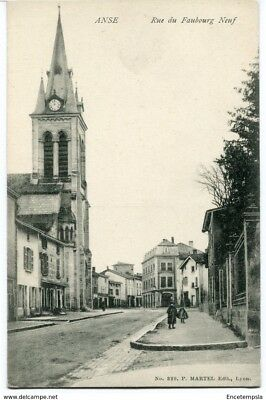 CPA-Carte postale-FRANCE   Anse -  Rue du Faubourg Neuf (CPV1300)
