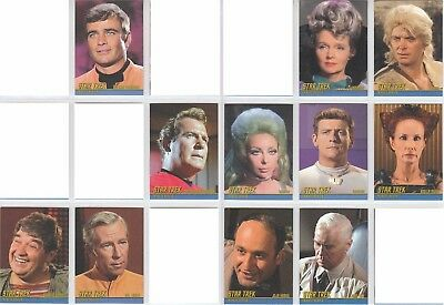 """Star Trek Remastered TOS The Original Series - """"Tribute"""" 11 Chase Cards Lot"""