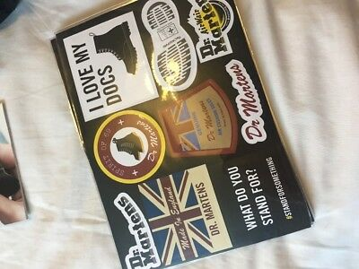 Dr Martens Sticker Pack Made In England Rare Trendy Cool