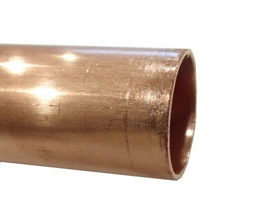 22mm Copper Pipe (100mm - 500mm Lengths Available)