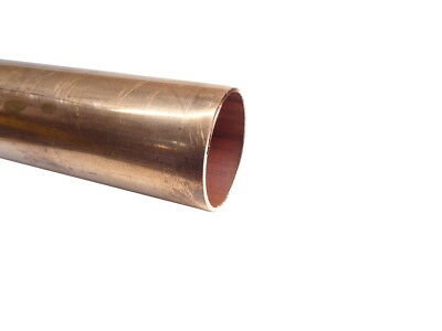 42mm Copper Pipe / Tube (100mm - 500mm Lengths Available)