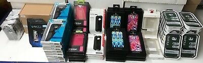 Wholesale lot(93) Cell Phone Cases/Tempered Glass iPhone7 HTC M9 Speck Incipio