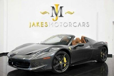 2013 Ferrari 458 Spider ($311K MSRP) 2013 FERRARI 458 SPIDER, $311K MSRP! 9700 MILES, HIGHLY OPTIONED! PRISTINE CAR!