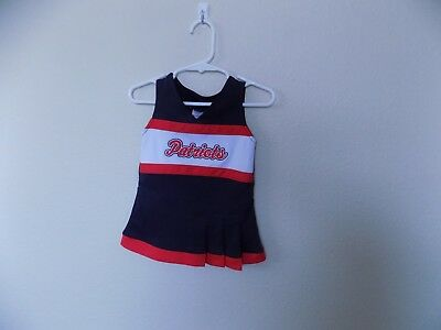 NFL New England  Patriots Sleeveless  Dress-3/6M-Polyester-Made in Indonesia