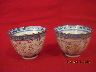 Vintage Chinese Bowls Small 2 with mark