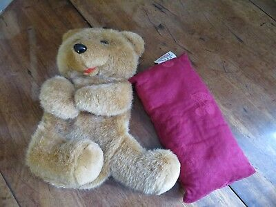 Opal London Microwave Teddy with Removable Bag (not wheat) Very Cute Staywarm
