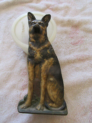 "Cast Iron ""german Shepard"" Door Stop"