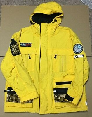 f778d3aa Vintage Yellow Tommy Hilfiger Outdoors Jacket - Expedition Outfitters Guide  - L