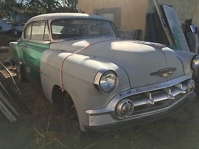 1953 Chevrolet Bel Air/150/210 Hardtop Sports Coupe 1953 Chevrolet Hardtop