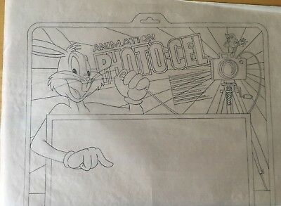 Warner  Bros,  Pencil  Drawing  ''paint A Toon''