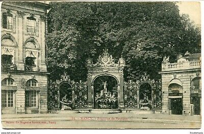 CPA-Carte postale- France -  Nancy - Fontaine de Neptune (CP1750)