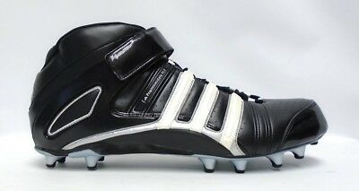 bed1f77f164 REEBOK NFL PRO Thorpe III MP2 Black and White Football Cleats - Size ...