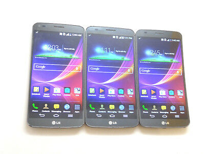 Lot of 3 LG G Flex D959 T-Mobile 32GB Smartphones AS-IS GSM Clean IMEI