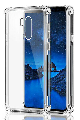 Ultra Slim Soft Case For LG G7 ThinQ Silicone Clear Transparent TPU Cover