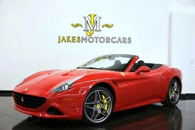 2017 Ferrari California T 2017 FERRARI CALIFORNIA T ~ONLY 2K MILES!~ CORSA RED ON BLACK~ LOADED W/OPTIONS