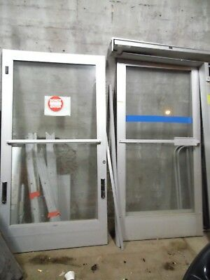 Glass Store Front Doors With Frame