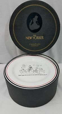 The New Yorker Cheese Plates Restoration Hardware Cheese Plates Set of 6 in Box & NEW IN BOX ~ Restoration Hardware The New Yorker 6 Cheese and Wine ...