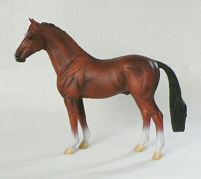 Beautiful Collecta Horse Bay Hanoverian Stallion Figurine