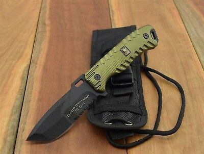 U.S. Army A-1016GN FIXED BLADE KNIFE Tactical Fighting Knives A-1016GN